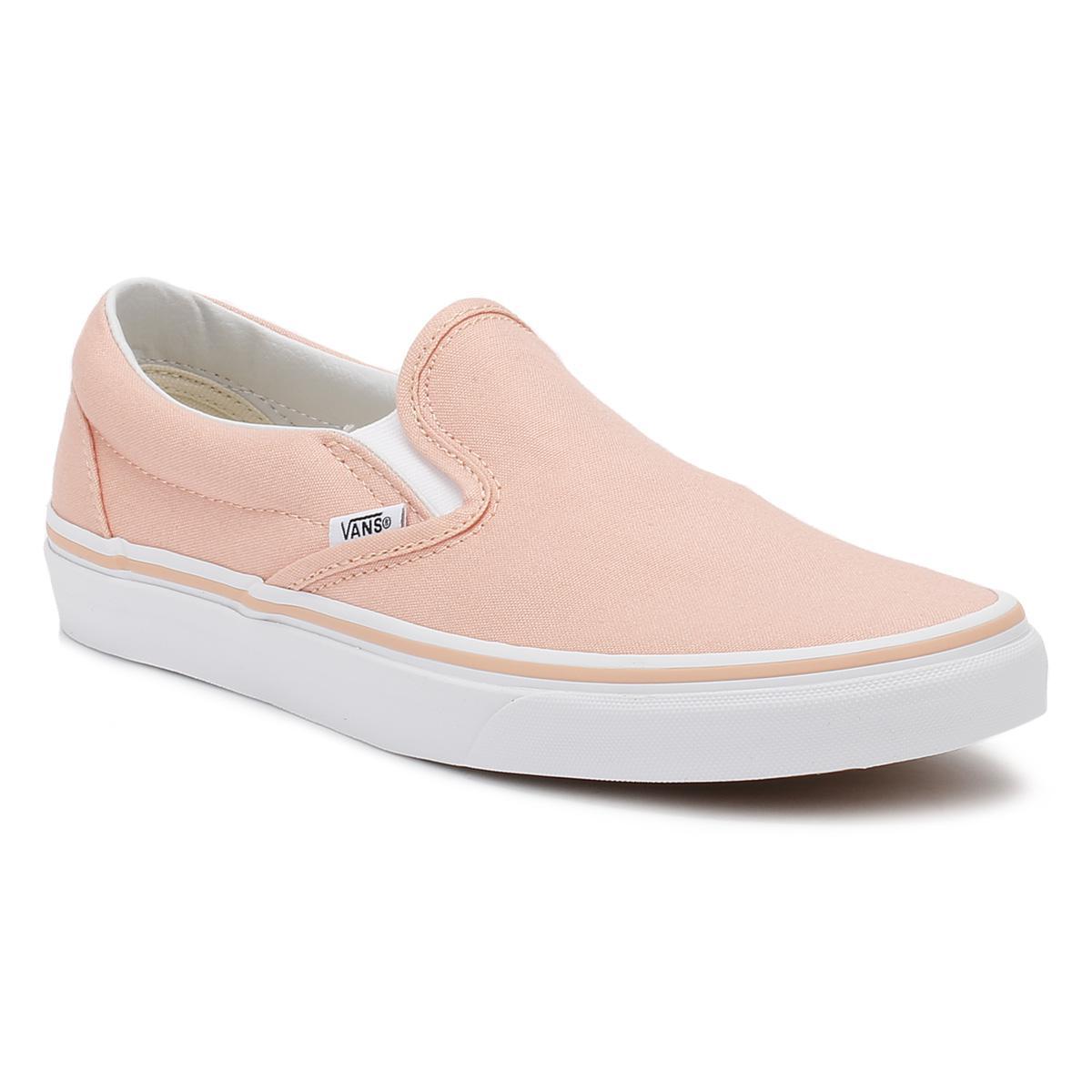 womens peach vans