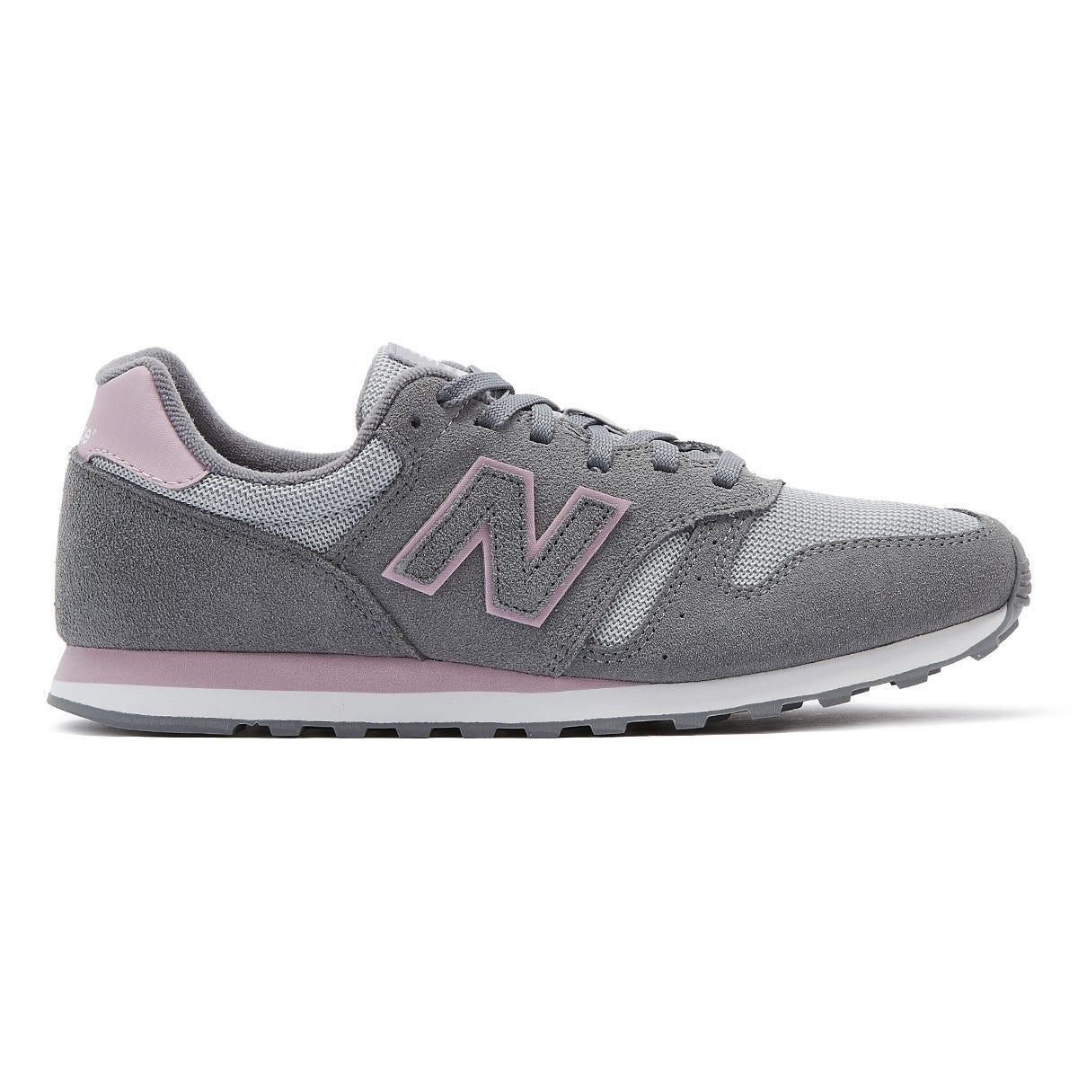 New Balance Suede 373 Womens Grey