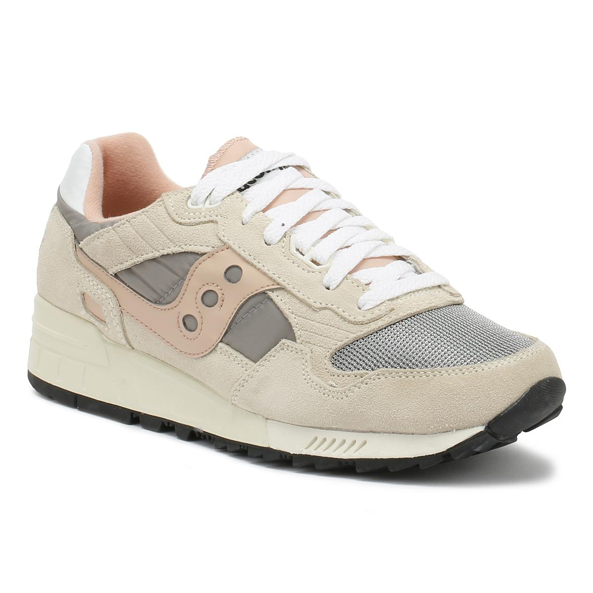 super popular 392ae 21bf8 Shadow 5000 Mens Off White / Grey / Pink Trainers