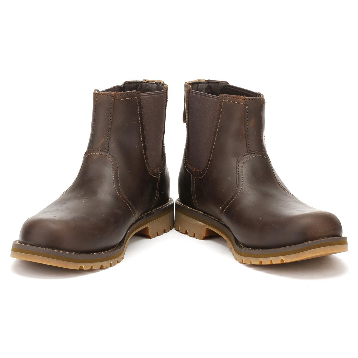 Dark Brown Larchmont Chelsea Boots