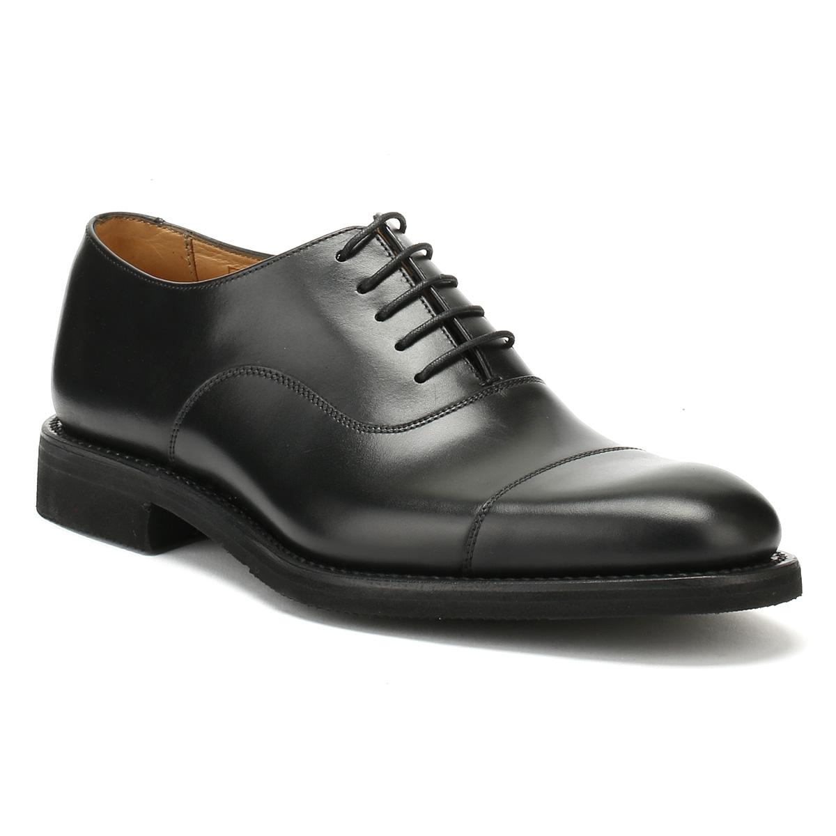 Black leather 'Orion' Oxford shoes in China cheap online stockist online cheap sale good selling CxGsfB