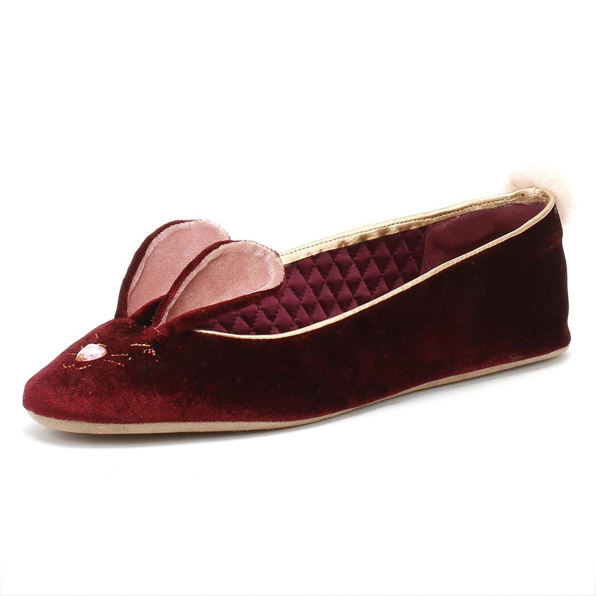 ef4a587400f Ted Baker - Multicolor Bhunni Womens Burgundy Slippers - Lyst. View  fullscreen