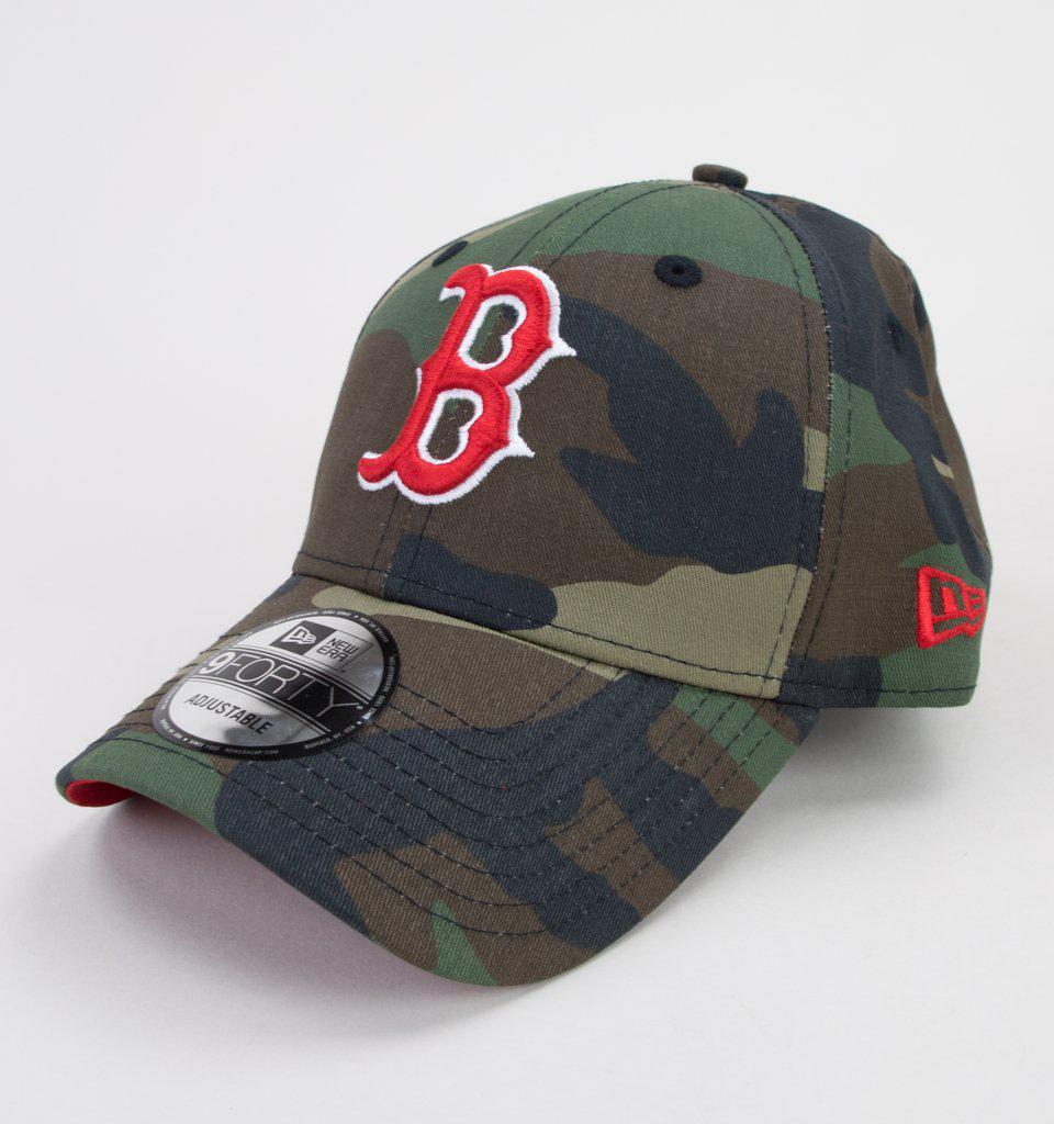 edb48895cf5 Ktz New Era Camo Team 940 Bosre Cap Hats for Men - Lyst