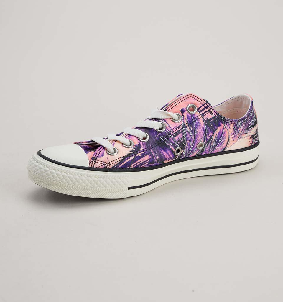 1d31516b43a Converse 559865c Ct As Ox Hyper Royal-pale Coral-egret Trainers - Lyst