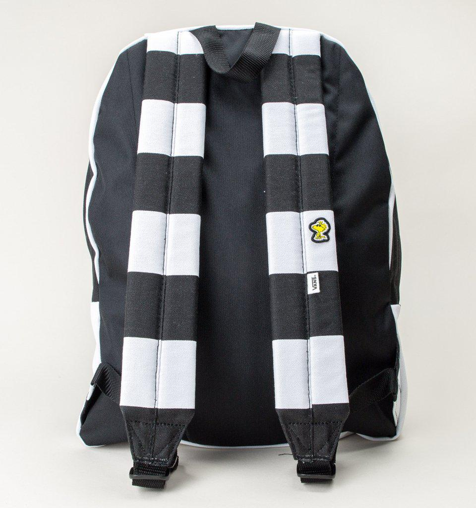 Vans Vn0a3aowo2u Peanuts Realm Bp Bags in Black for Men - Lyst 1c4c97ceff