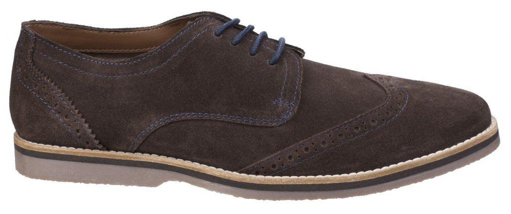cba0bc28e80 Hush Puppies Hush Puppies Sebastian Wingtip Brown Shoes for Men - Lyst