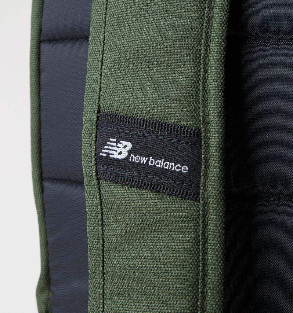 New Balance Logo Backpack In Orange 500387 807