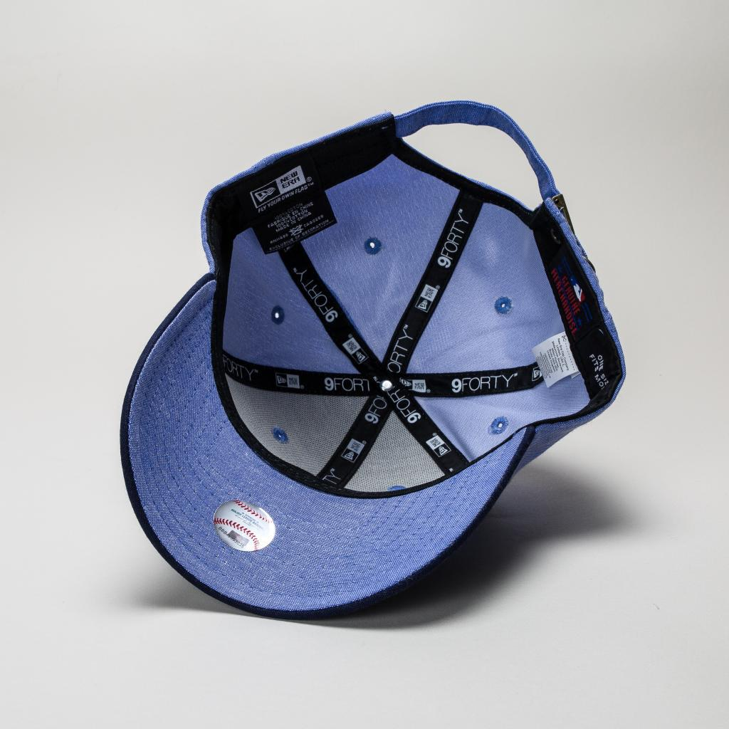 116454e9485 KTZ - Blue New Era Chambray Crown Ny Yankees Lry-navy Hats for Men -. View  fullscreen