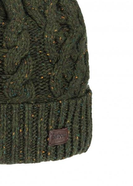 1139d05f5c7 Barbour Seaton Pom Beanie Hat Green in Green for Men - Lyst