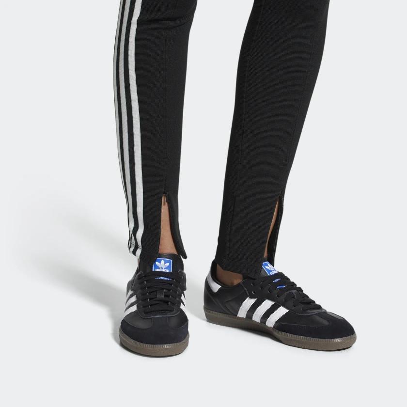adidas 36 2/3 Black And White Samba G17100 Shoes - Lyst