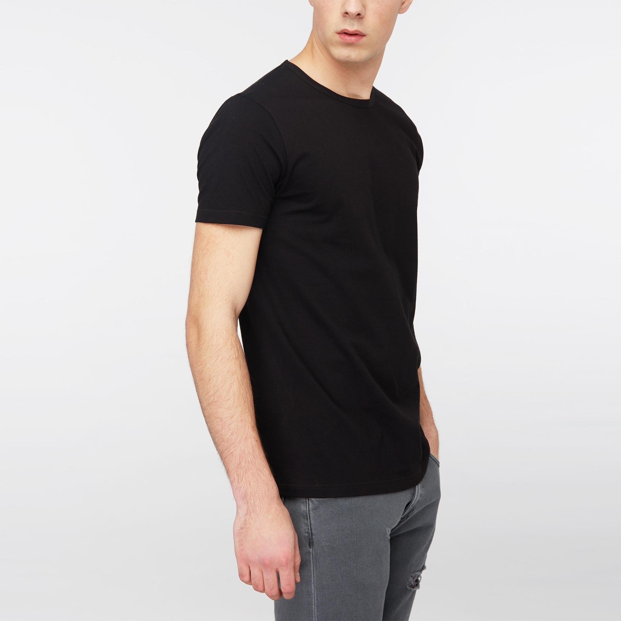New Mens Edwin  T-Shirt Double Pack Grey Marl