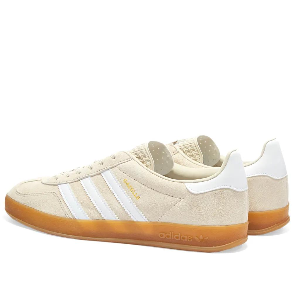 Gazelle Indoor Clear Brown, White & Gum Shoes