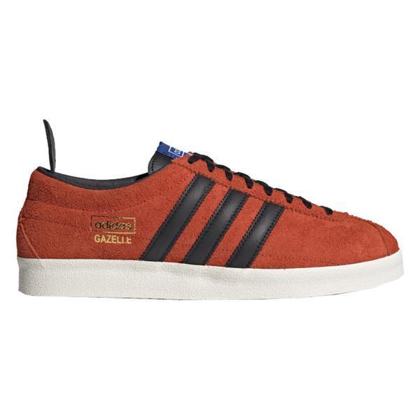 Gazelle Vintage Chaussures True Orange Core Noir Bleu adidas pour ...