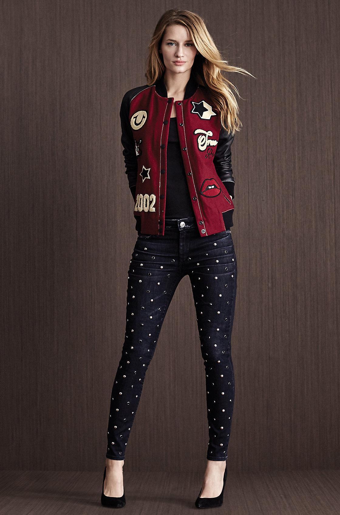 Womens true religion jacket