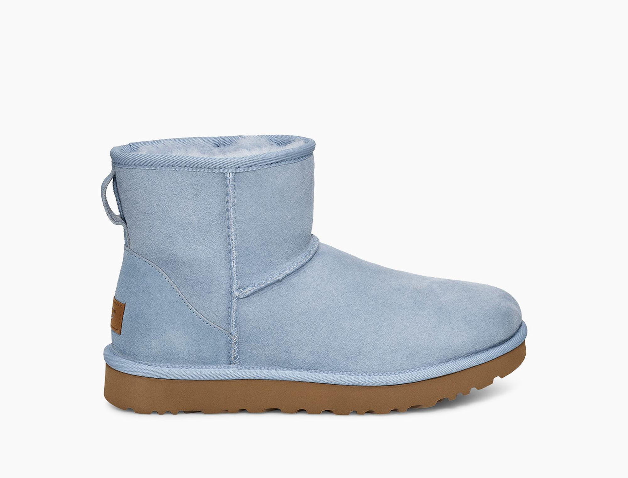 6c05e15b7c5 Lyst - UGG Classic Mini Ii Boot Classic Mini Ii Boot in Blue