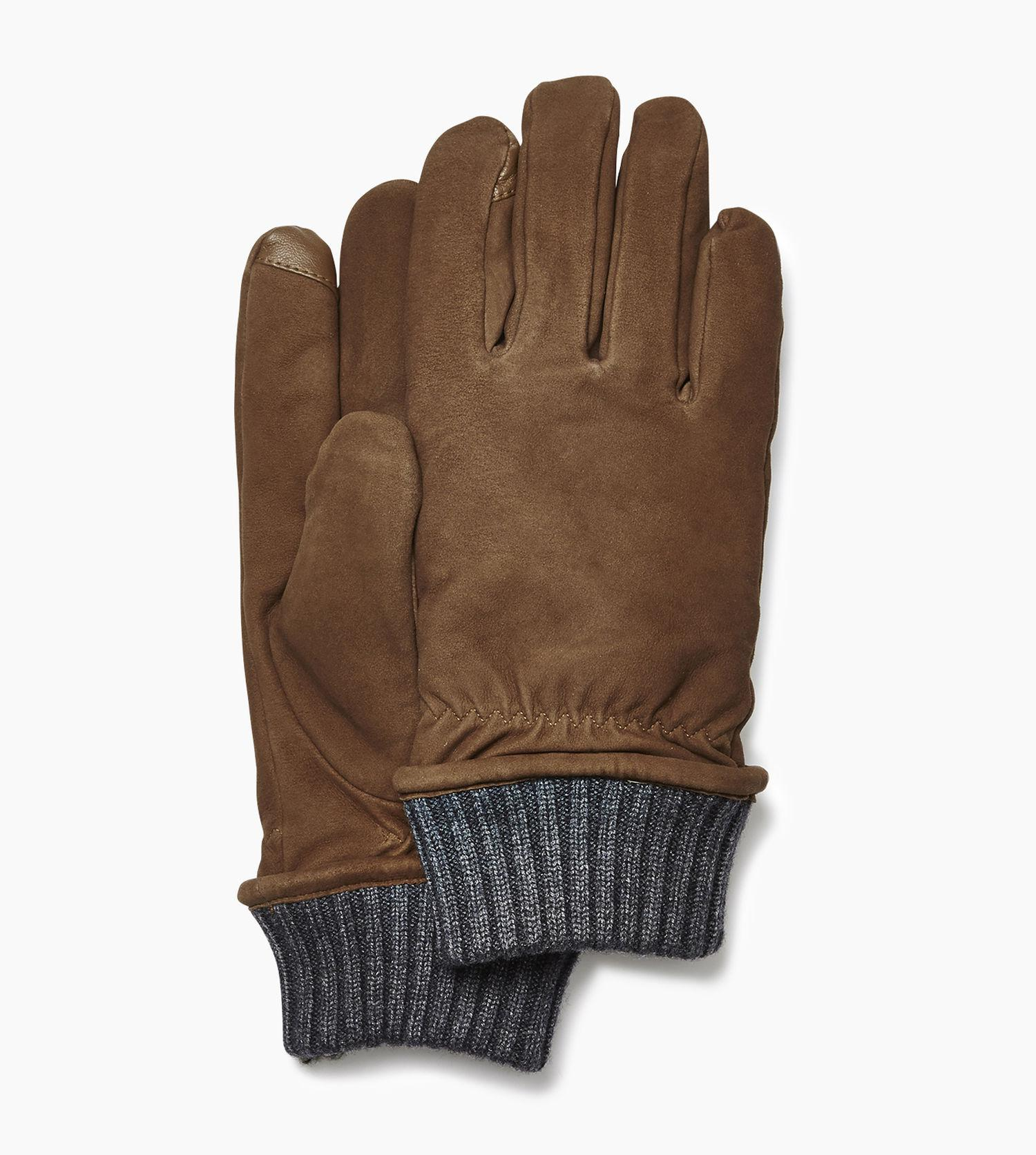 ab72199dd6bf9 UGG Men's Suede Glove With Knit Cuff in Brown for Men - Lyst