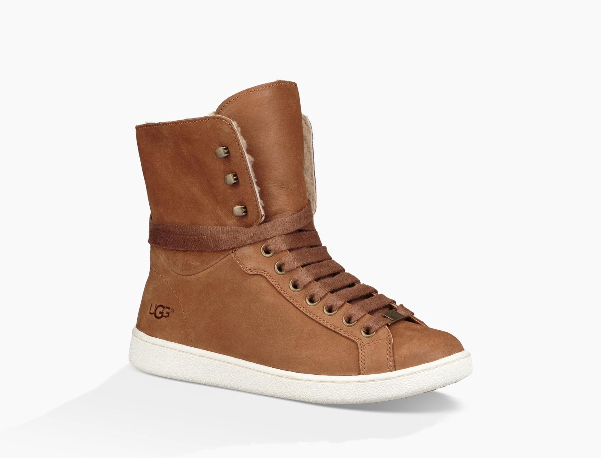 0bdfd439f3c Ugg Brown Starlyn (chestnut 1) Lace Up Casual Shoes