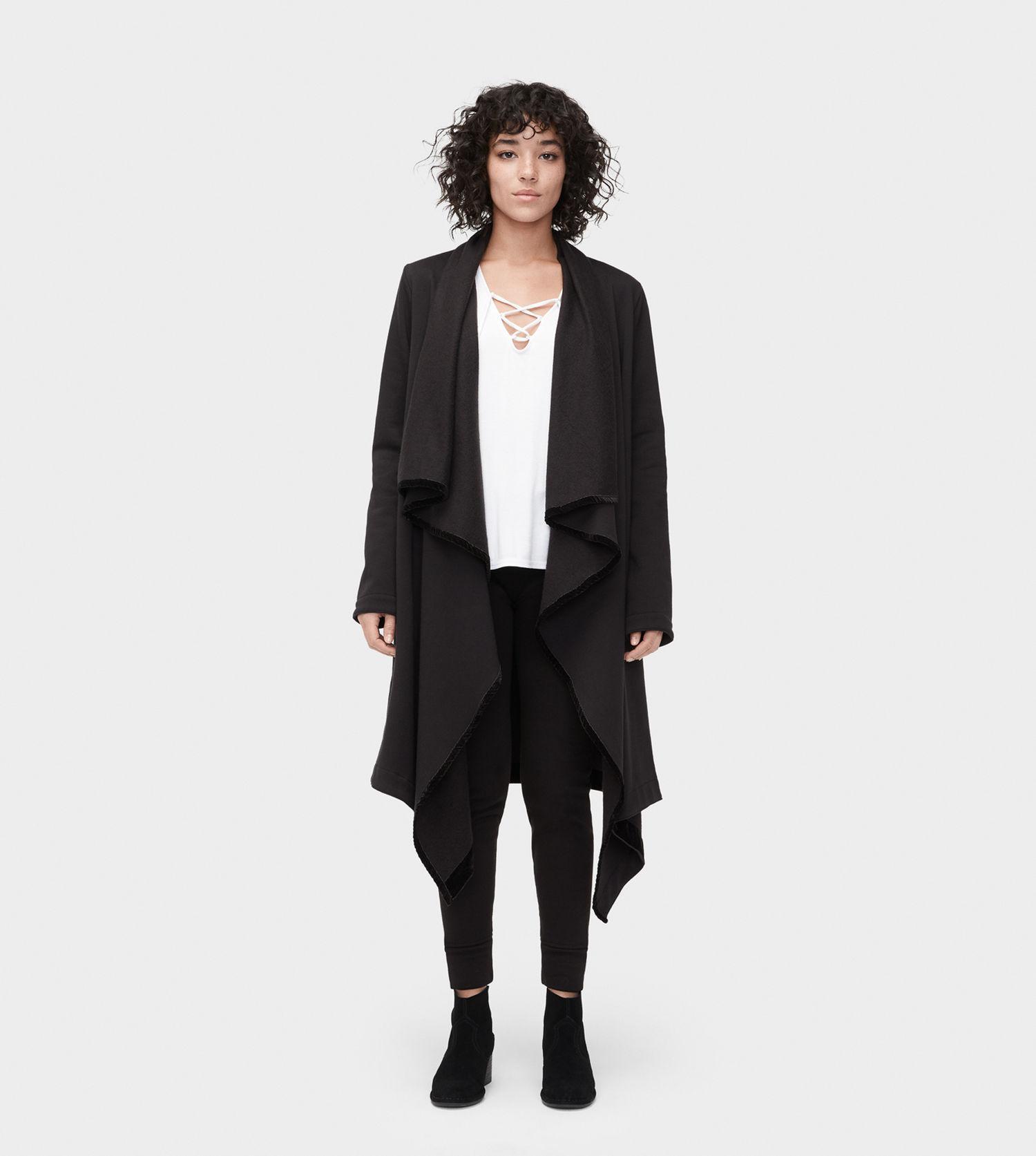 Lyst - UGG Women s Share This Product Janni Fleece Blanket Cardigan ... beb8f4ef3