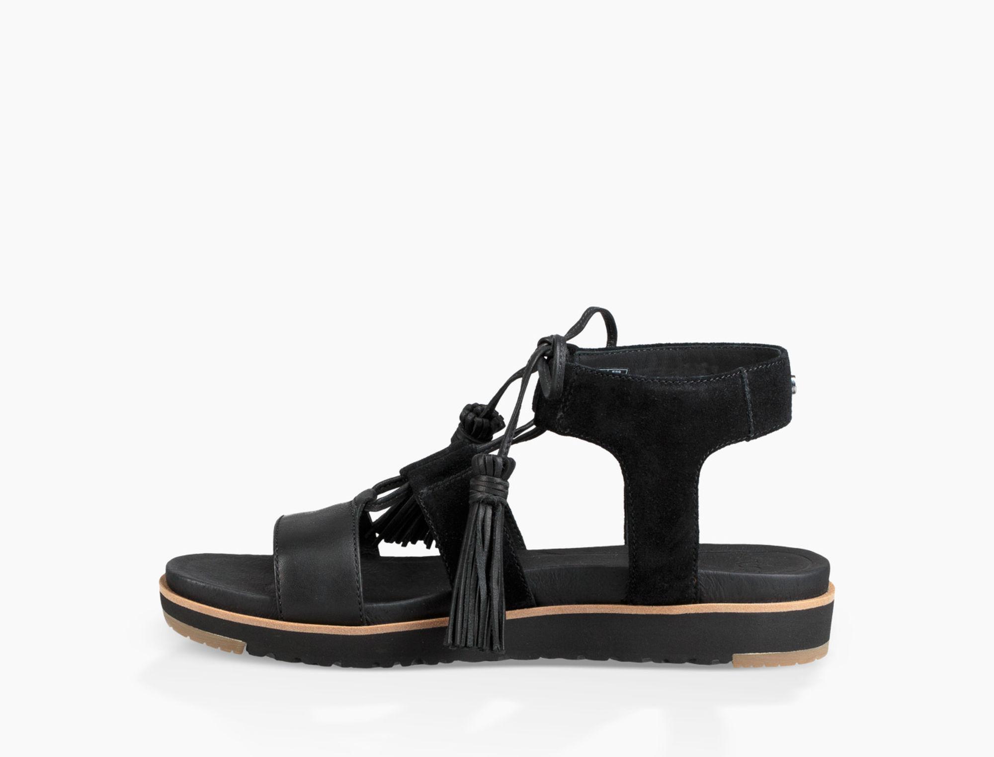 3800b87ebfb Ugg Maryssa (black) Sandals