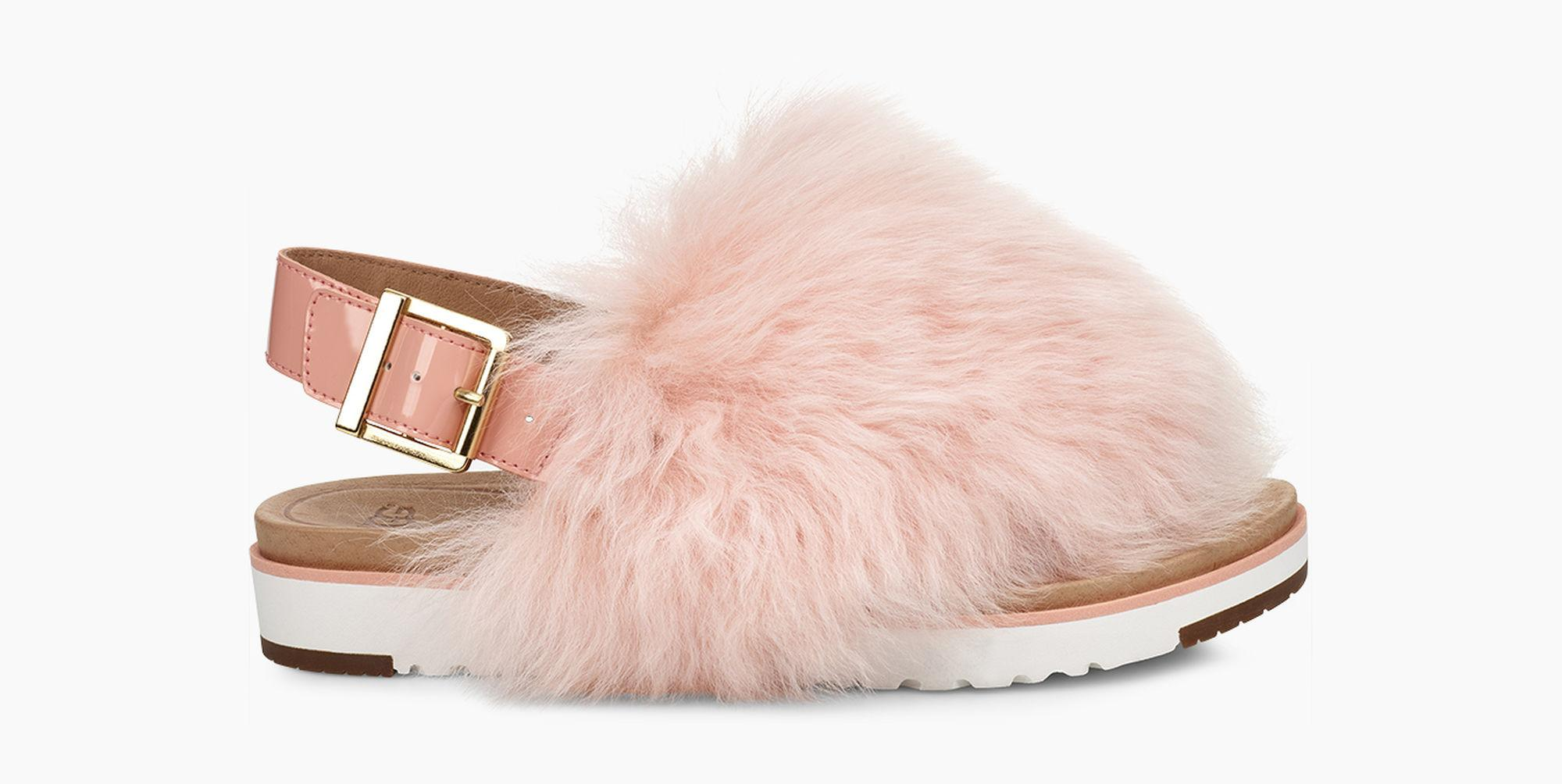 0e003ff695ea Lyst - UGG Women s Holly Sandal in Pink