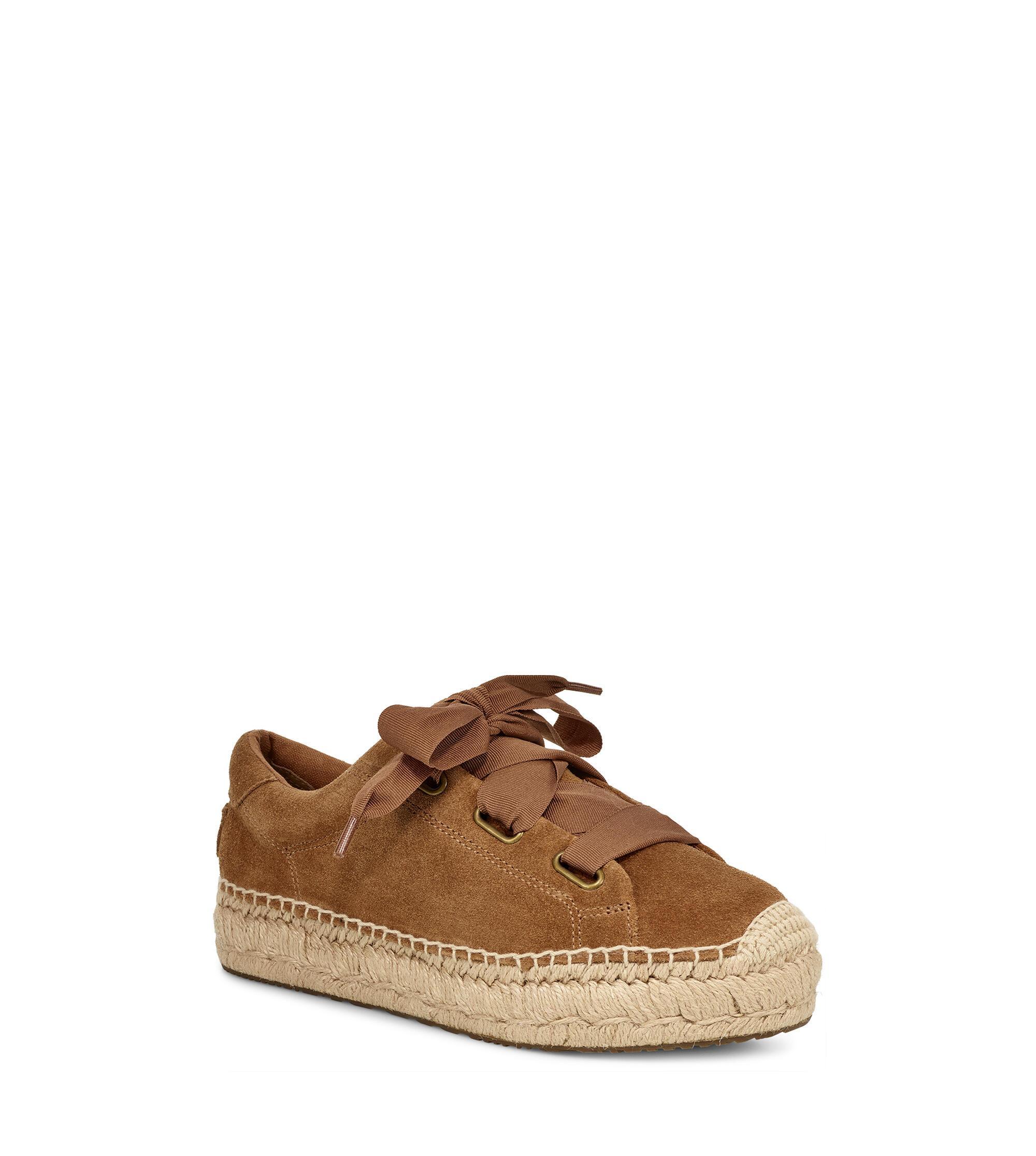 a22bbcbfa76 UGG Brianna Suede Loafer in Brown - Lyst