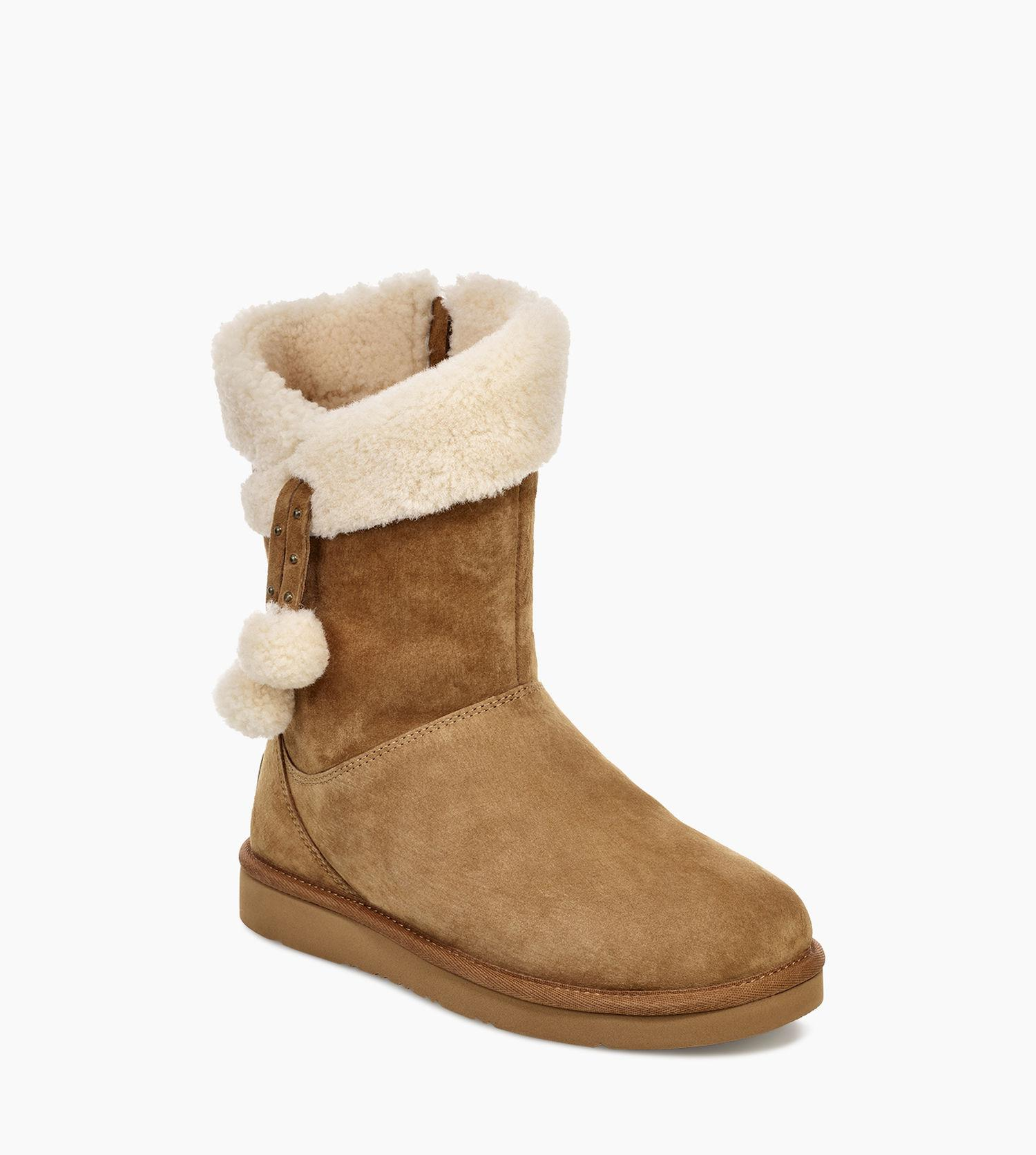 aad6115392e Ugg Brown Women's Share This Product Plumdale Cuff Short