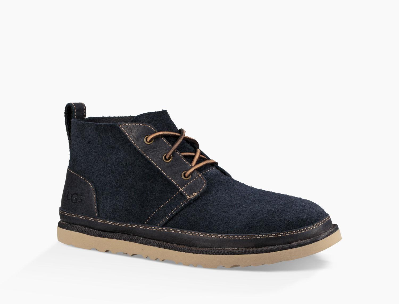 Ugg - Blue Men's Neumel Unlined Leather Boot for Men - Lyst. View fullscreen