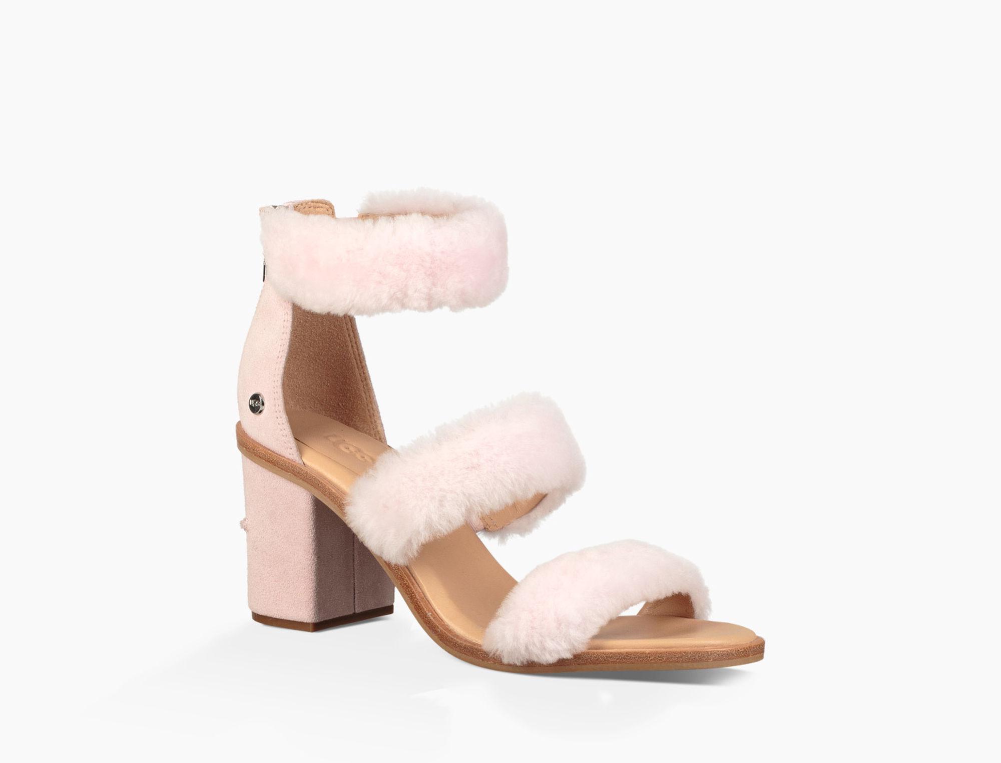 a1e0b8ca1e7 Ugg Del Rey Fluff Heel (seashell Pink) High Heels