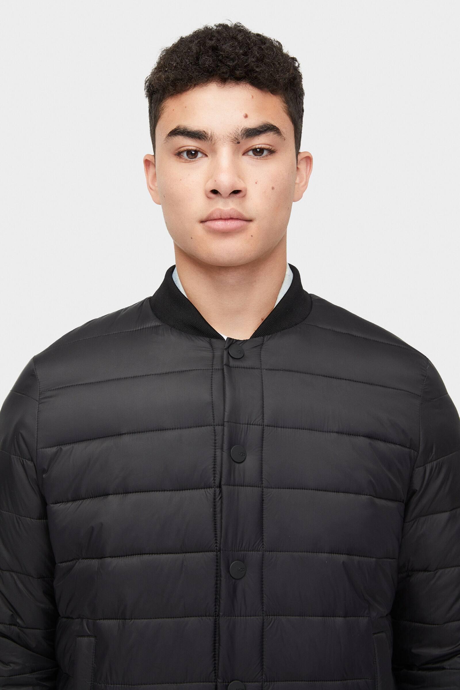 UGG Synthetisch Gavin Bomber Jacket in het Zwart voor heren