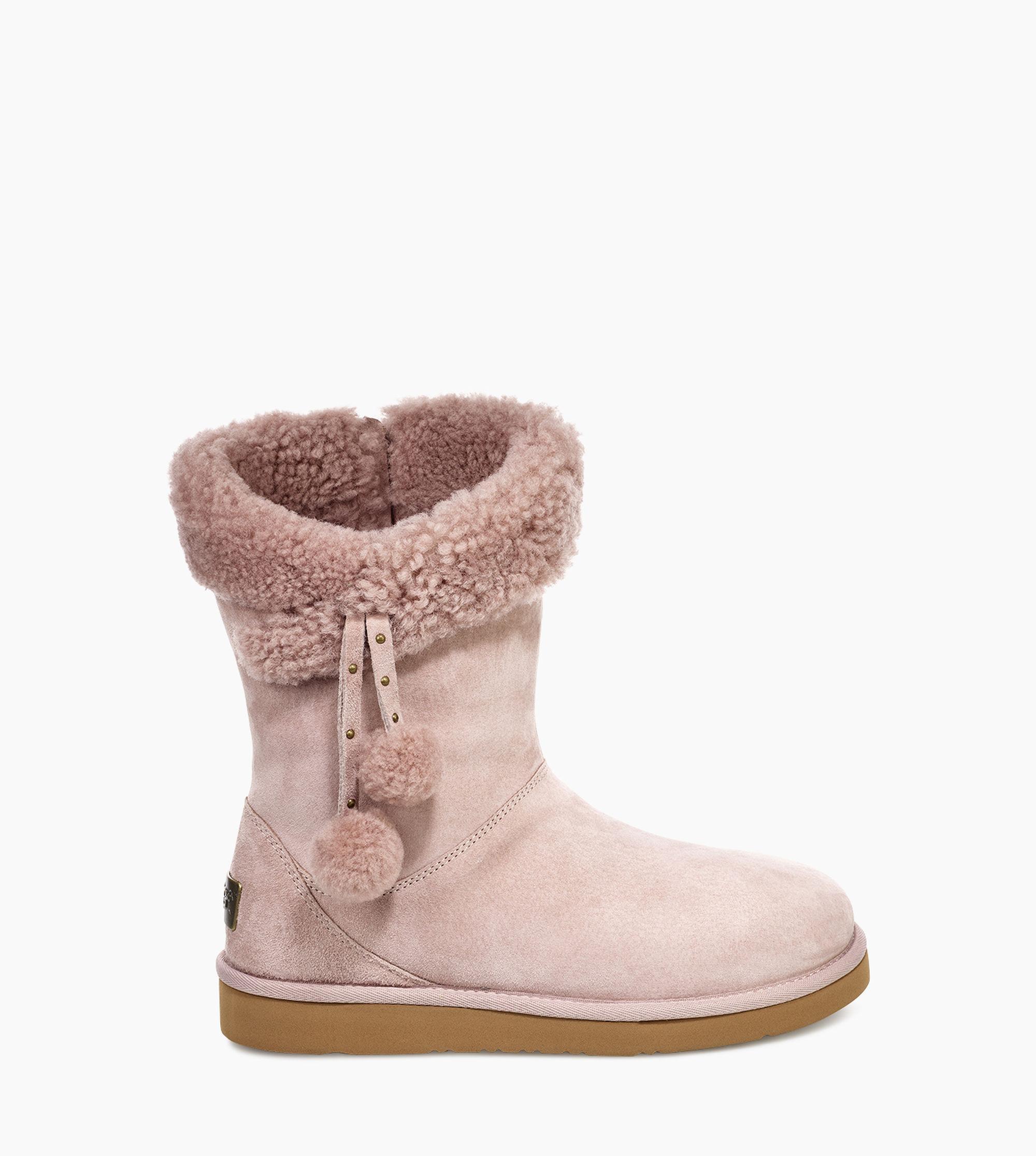 7f697ea6e38 Ugg Pink Plumdale Cuff Short Plumdale Cuff Short