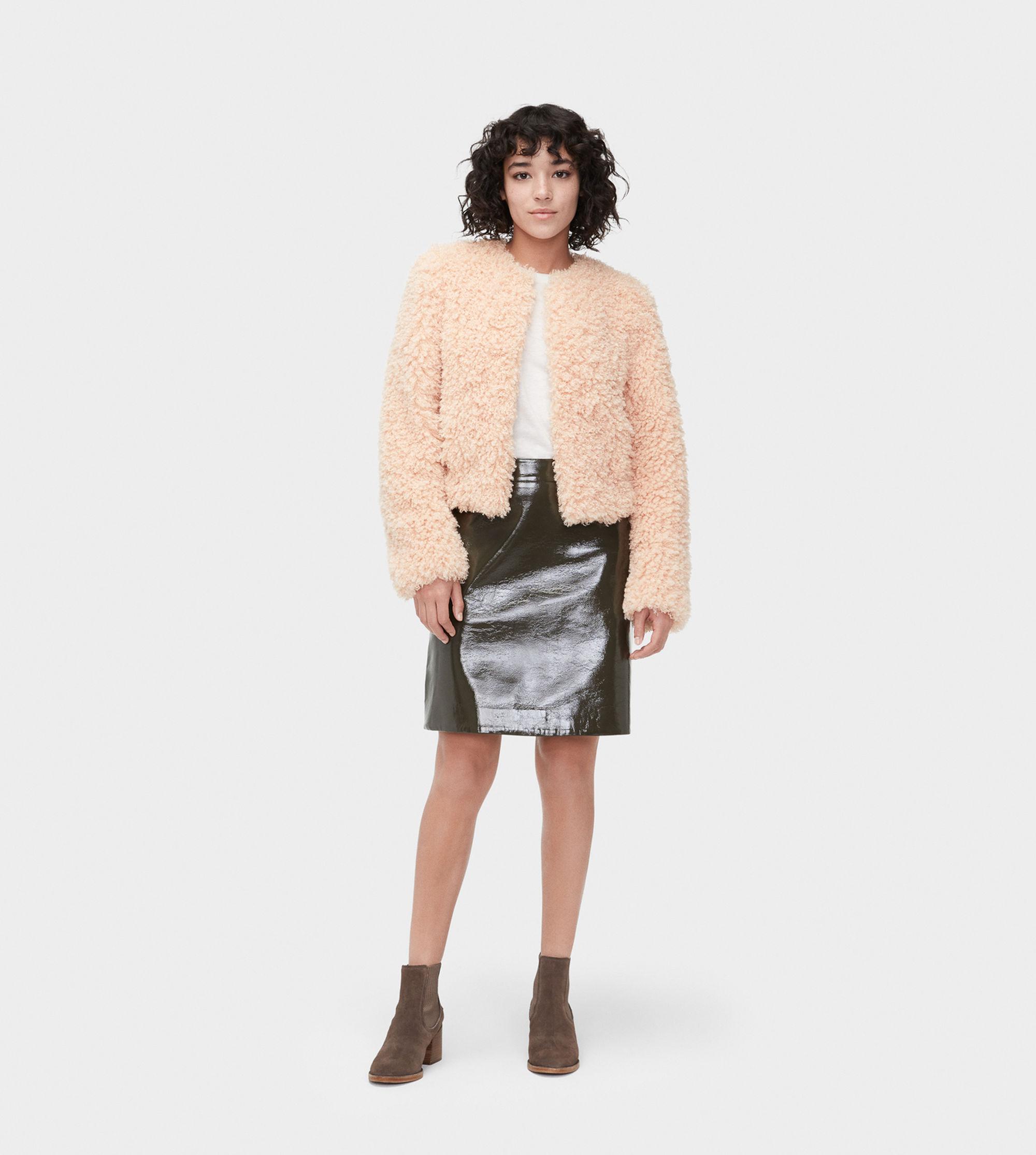 77b940e10ef3 Lyst - UGG Lorrena Faux Fur Jacket Lorrena Faux Fur Jacket