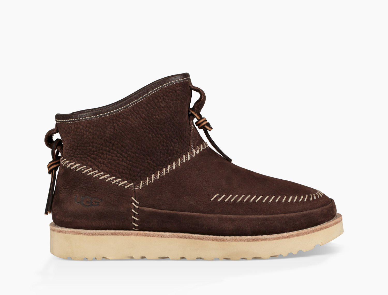 Ugg Leather Men S Campfire Pull On Boot In Brown For Men