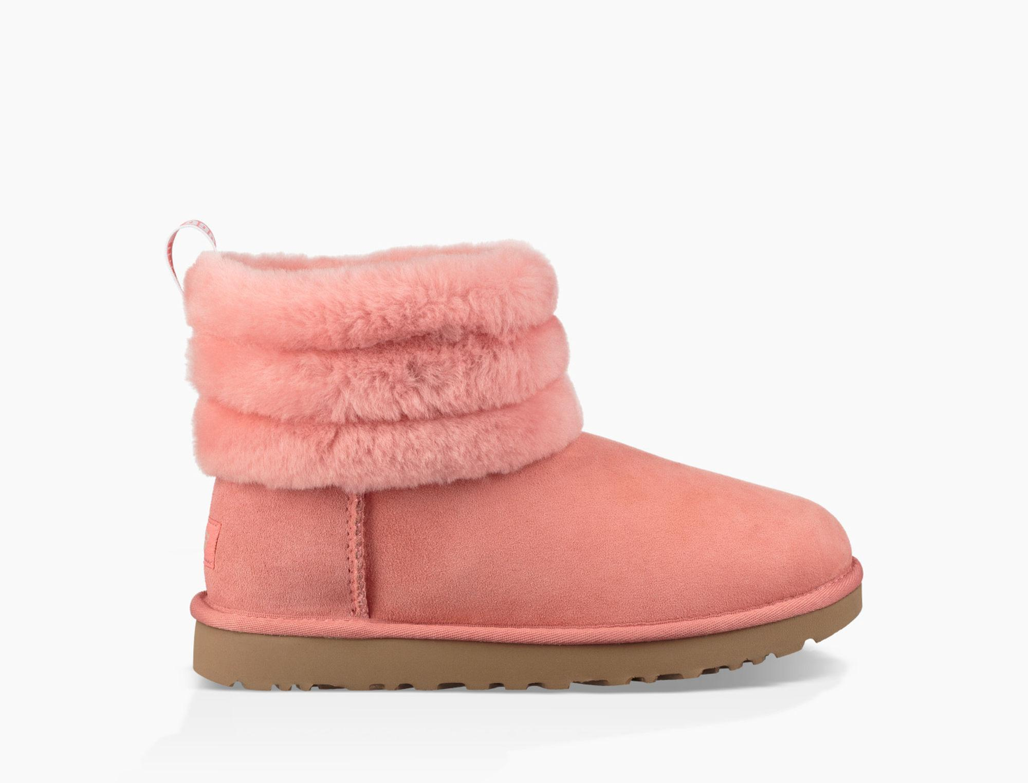12371410b7f Ugg Pink W Fluff Mini Quilted