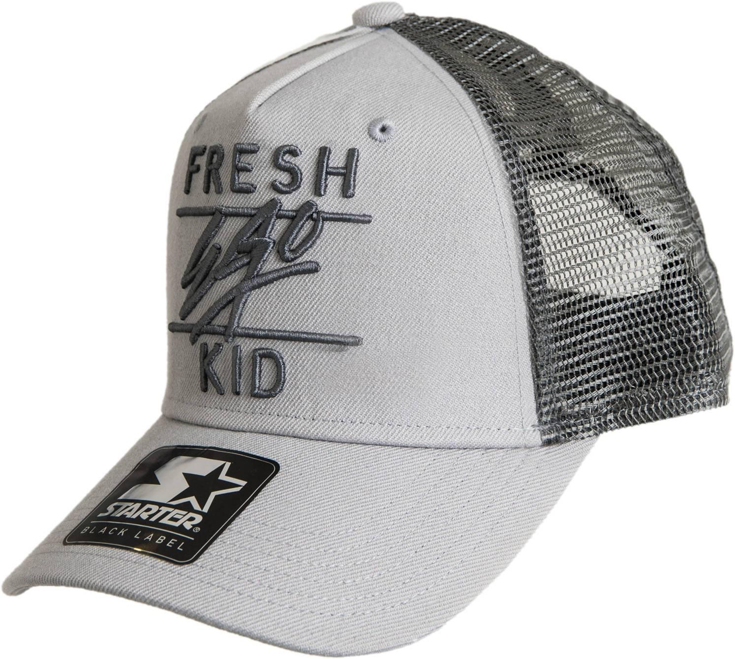 bc680aa4e09 Fresh Ego Kid Mesh Trucker Snapback Baseball Cap in Gray for Men - Lyst