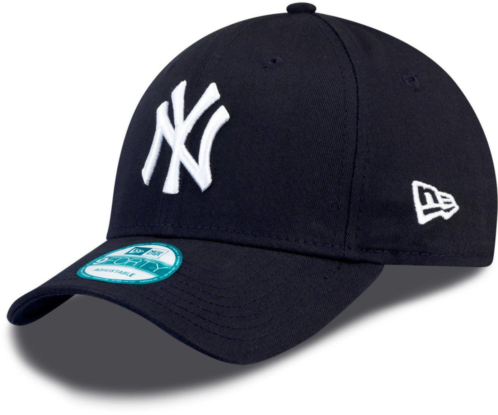95a5a99f7a5 KTZ 9forty New York Yankees Adjustable Baseball Cap in Blue for Men ...