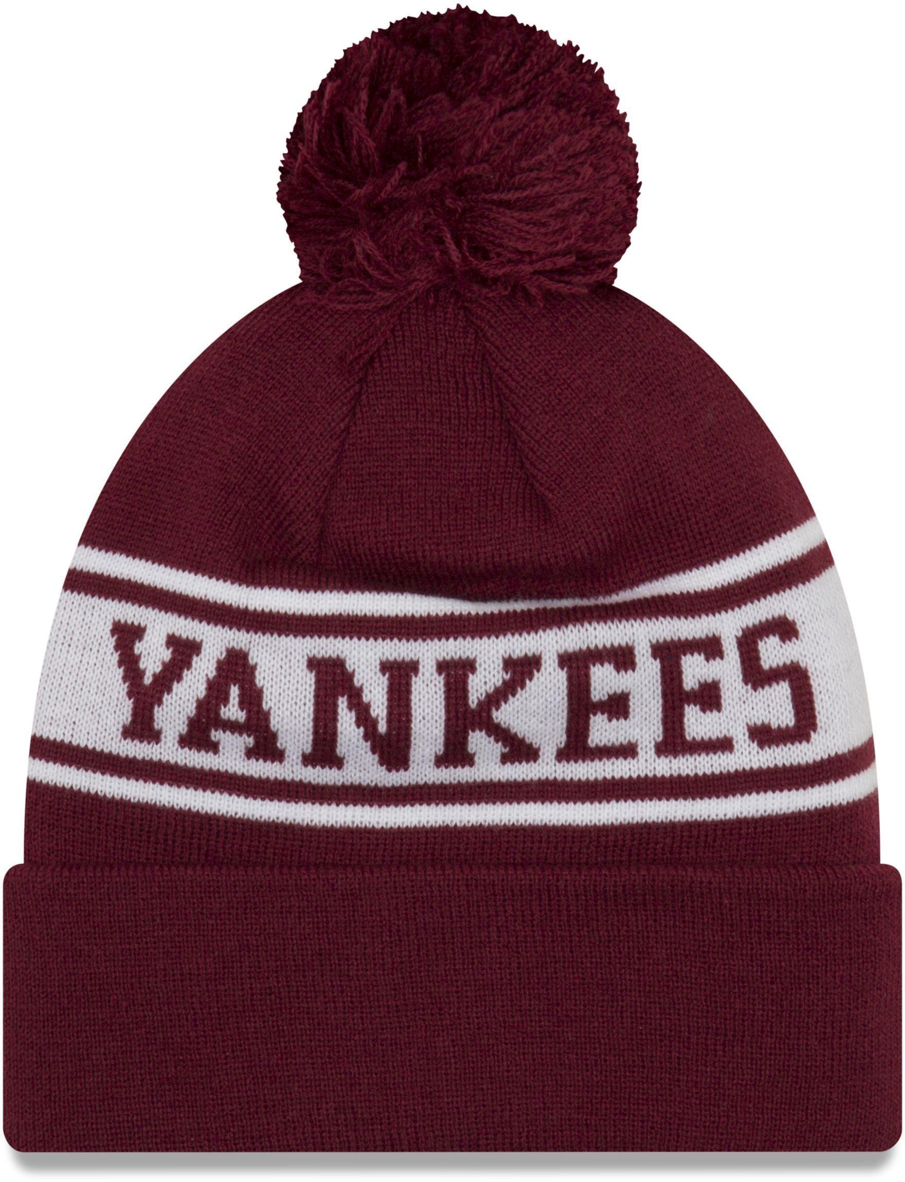 48f740bbf3a4bb KTZ New York Yankees Seasonal Jake Bobble Beanie Hat in Red for Men - Lyst