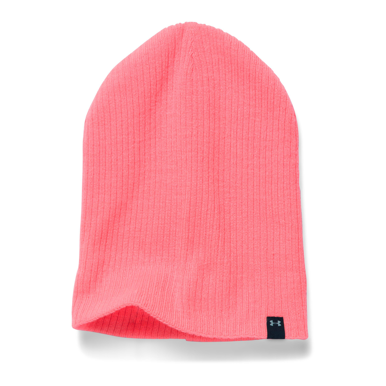 bd2b9992daa Lyst - Under Armour Women s Ua Favorite Knit Beanie in Pink