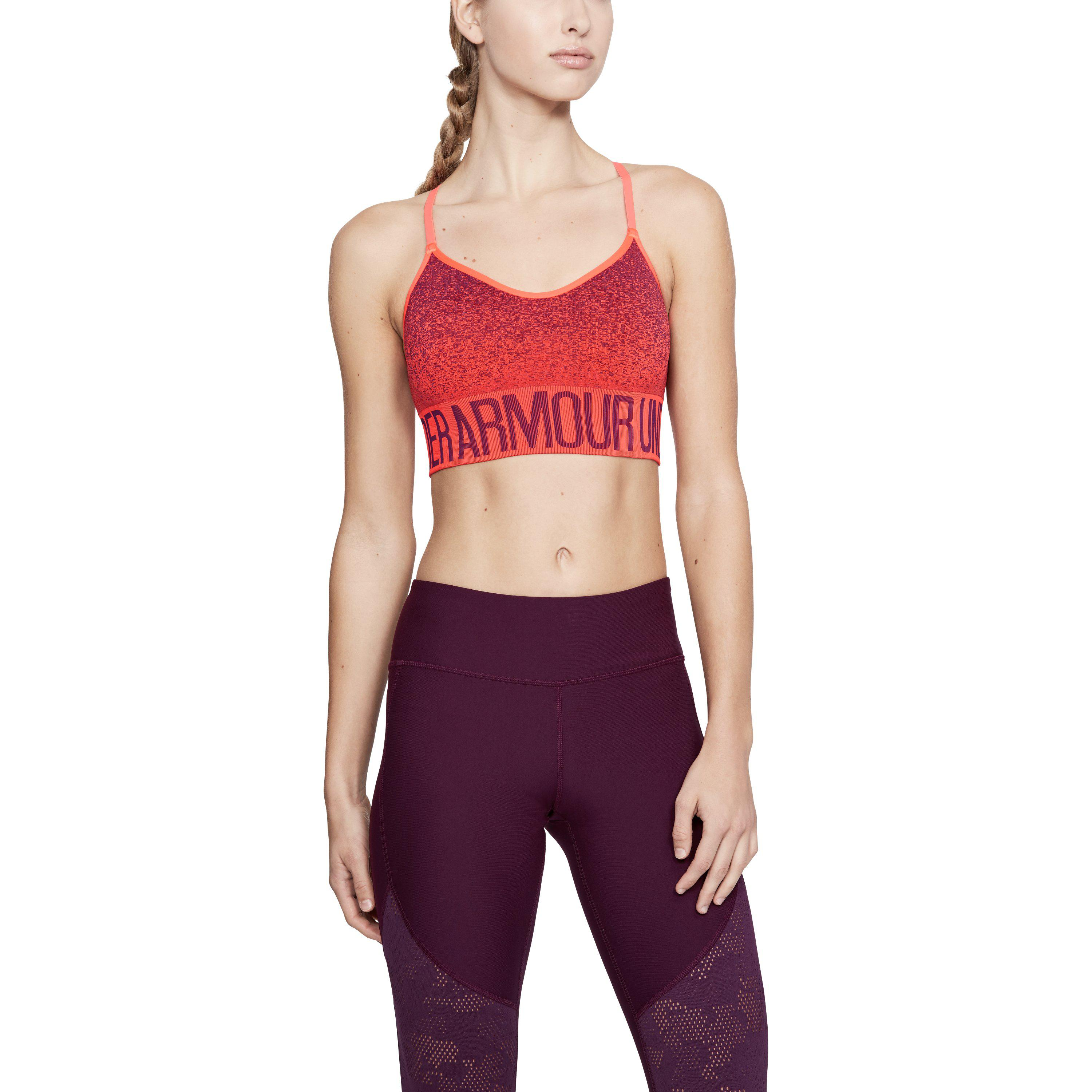 46b01f33e7188 Lyst - Under Armour Women s Armour® Seamless Ombre Printed Sports ...