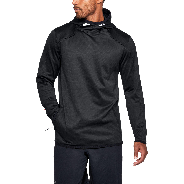 5a88eee80 Under Armour Men's Coldgear® Reactor Fleece Hoodie in Black for Men ...