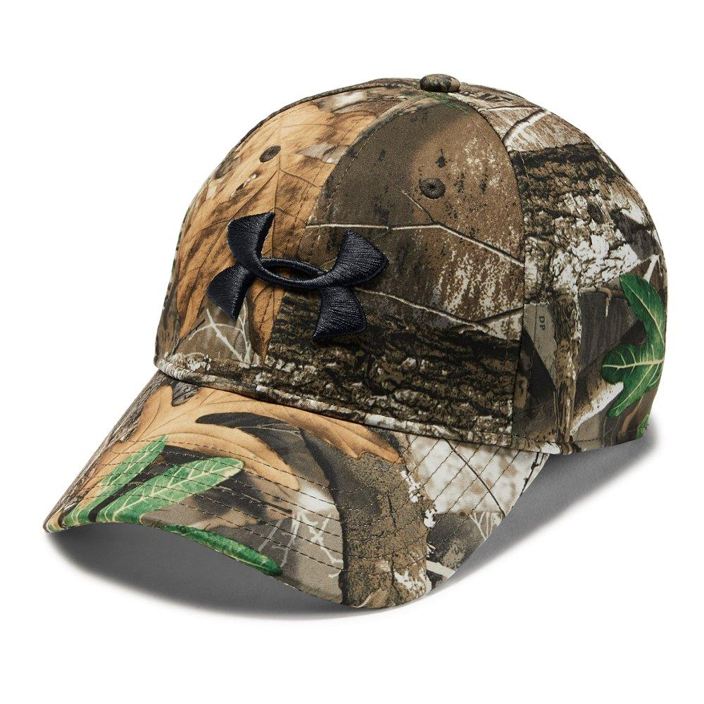 Lyst - Under Armour Camo Stretch Fit Cap in Green for Men df8a9e0d293