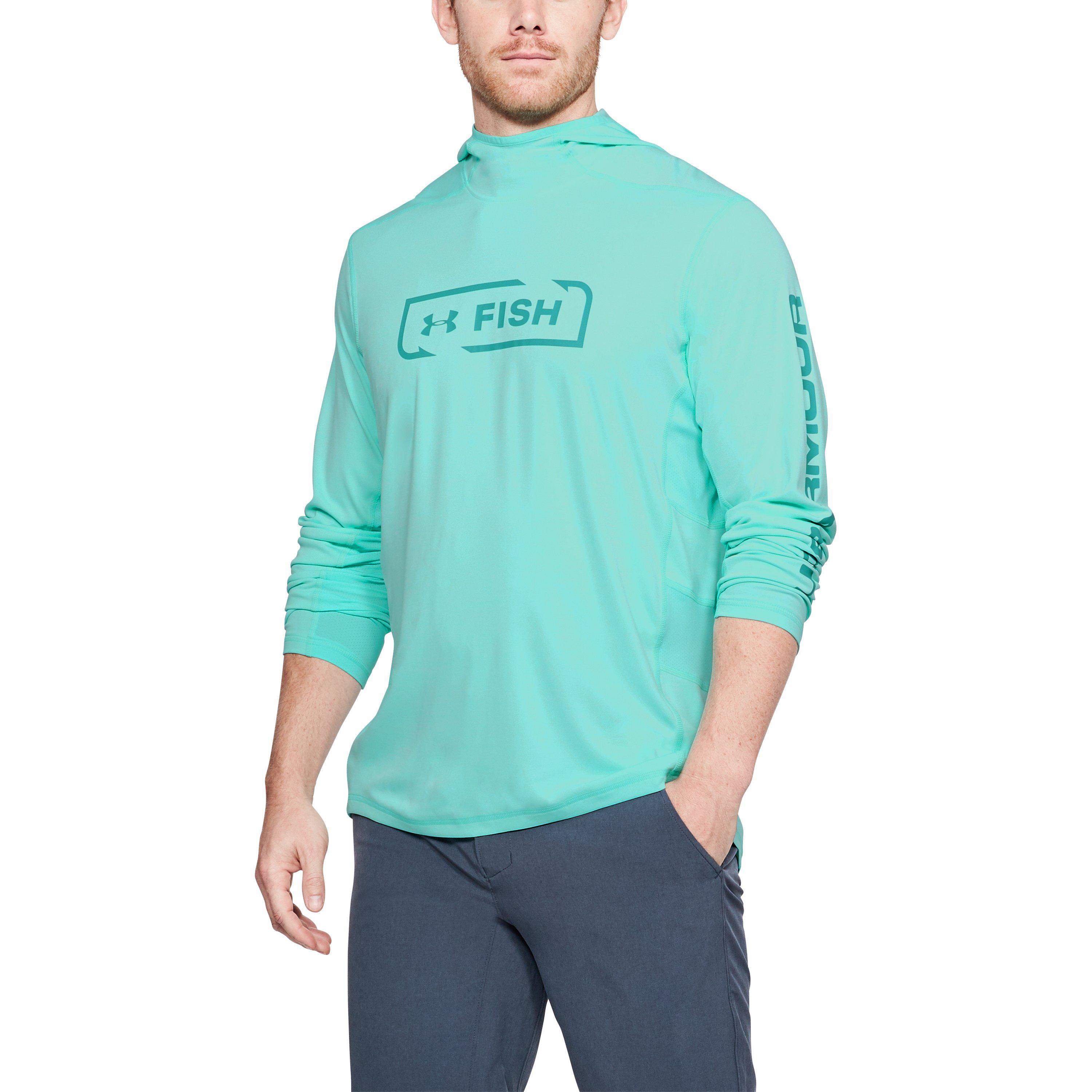 ed81aa76 Under Armour Men's Ua Fish Hunter Tech Hoodie in Blue for Men - Lyst