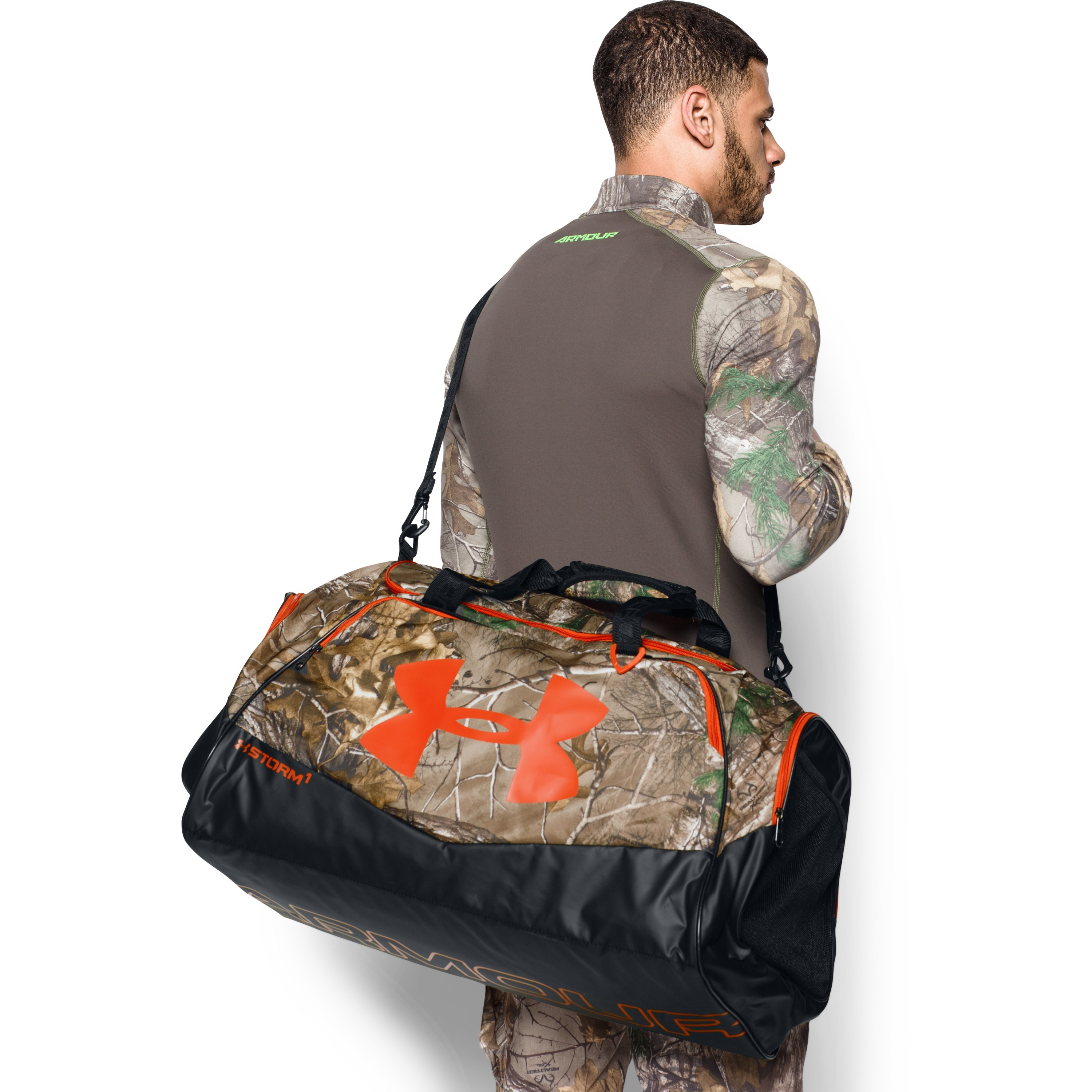 924afd3fd182 Lyst - Under Armour Ua Storm Camo Undeniable Lg Duffle for Men