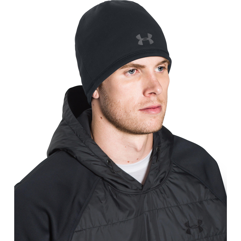 7877943e95 Under Armour Black Men's Ua Storm Coldgear® Infrared Elements 2.0 Beanie  for men