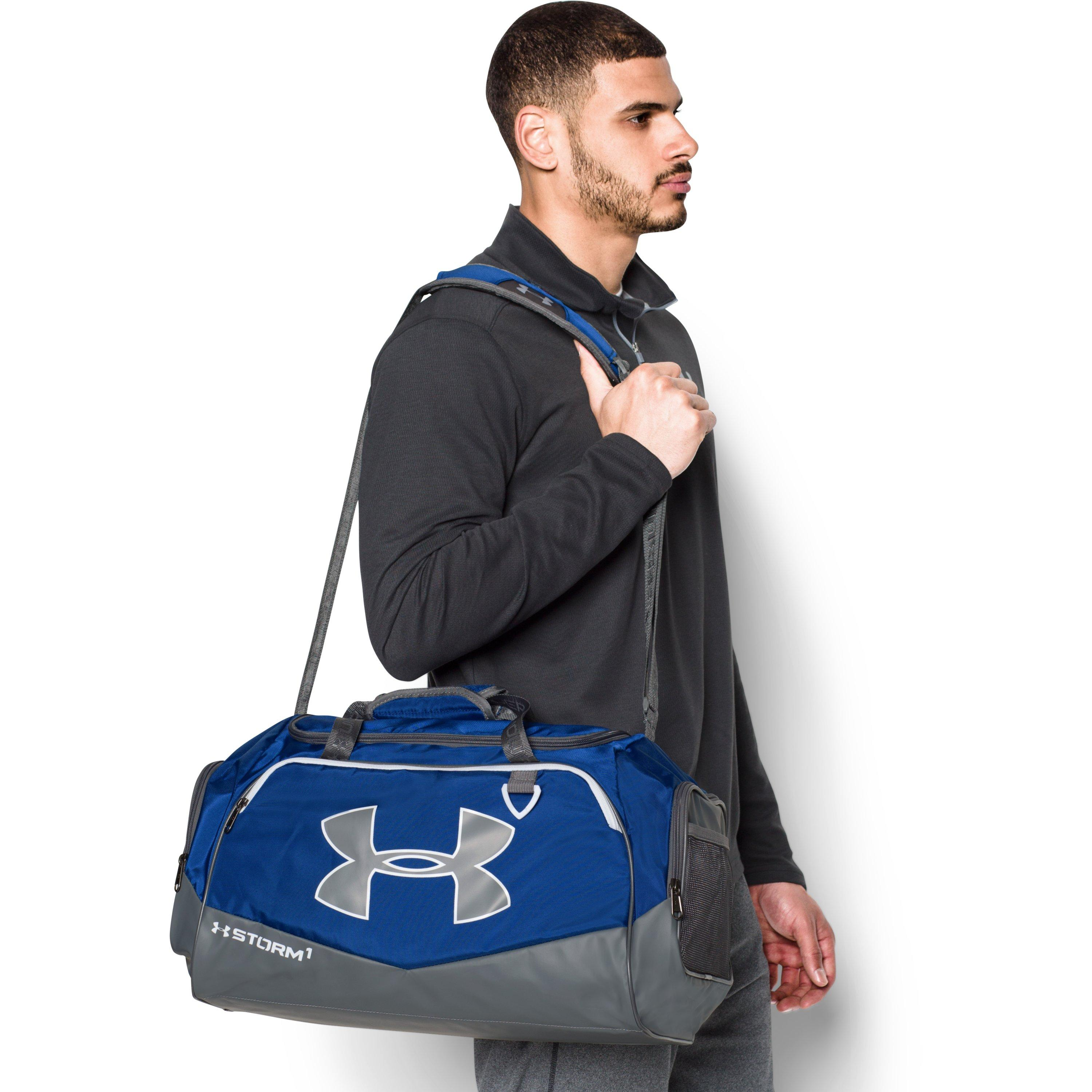 f2581209b70d Lyst - Under Armour Ua Storm Undeniable Ii Sm Duffle in Gray for Men