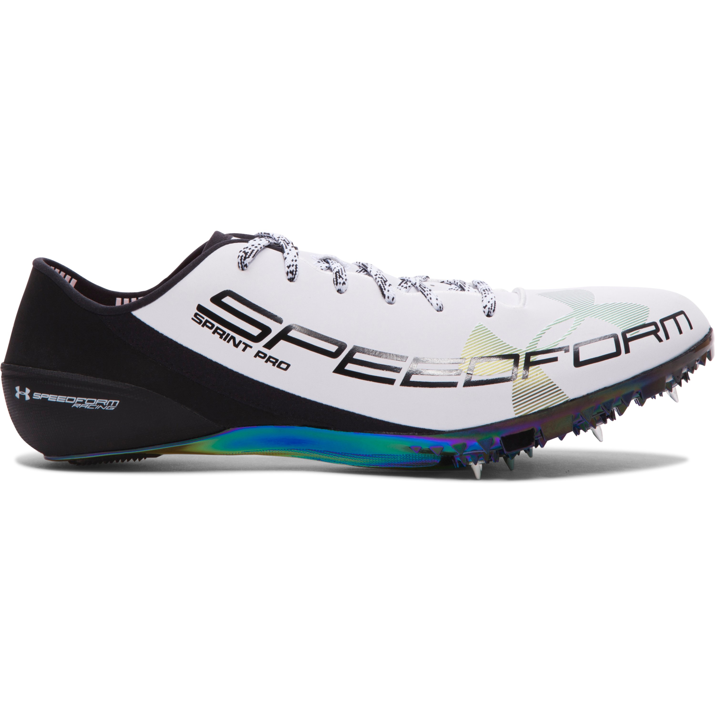 3559d3d4c2c8e Under Armour Ua Speedform® Sprint Pro Track Spikes in White for Men ...