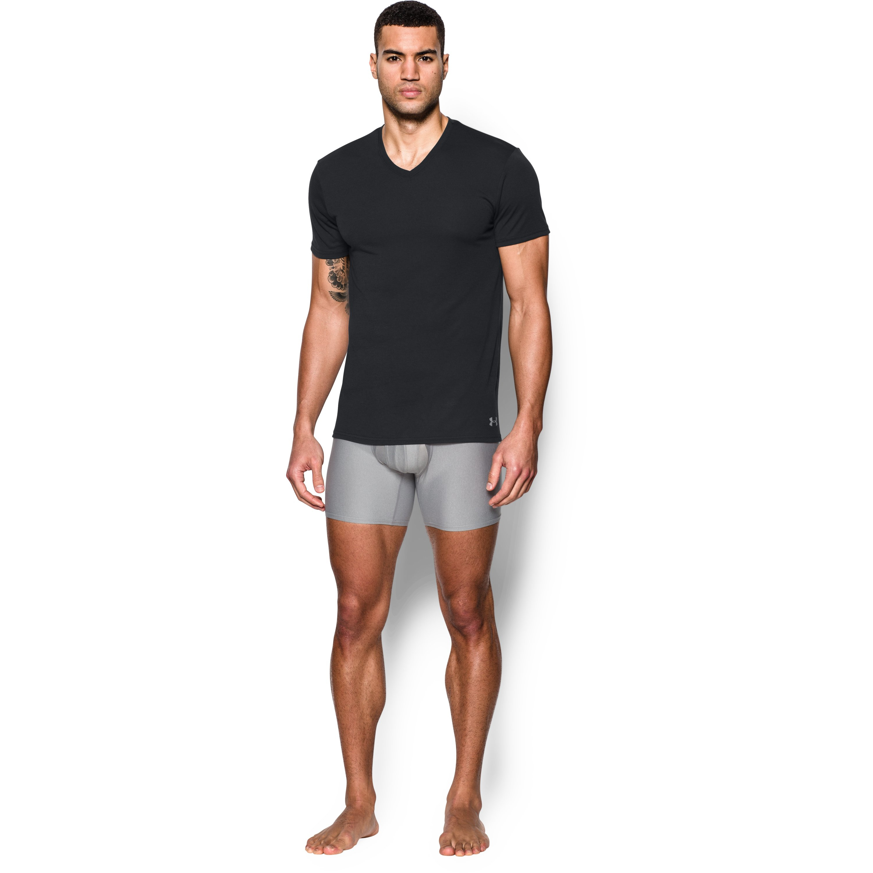Under armour men 39 s ua core v neck undershirt 2 pack in for Mens under armour under shirt