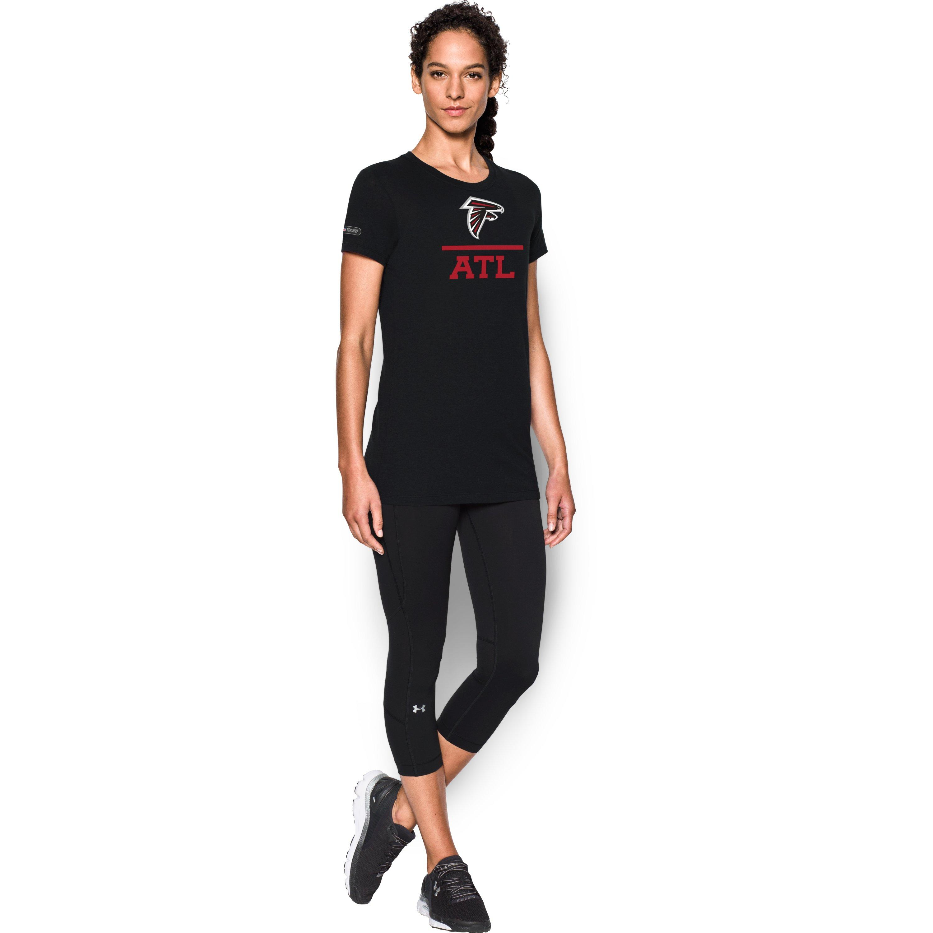 Lyst under armour women 39 s nfl combine authentic logo for Thrilla in manila shirt under armour