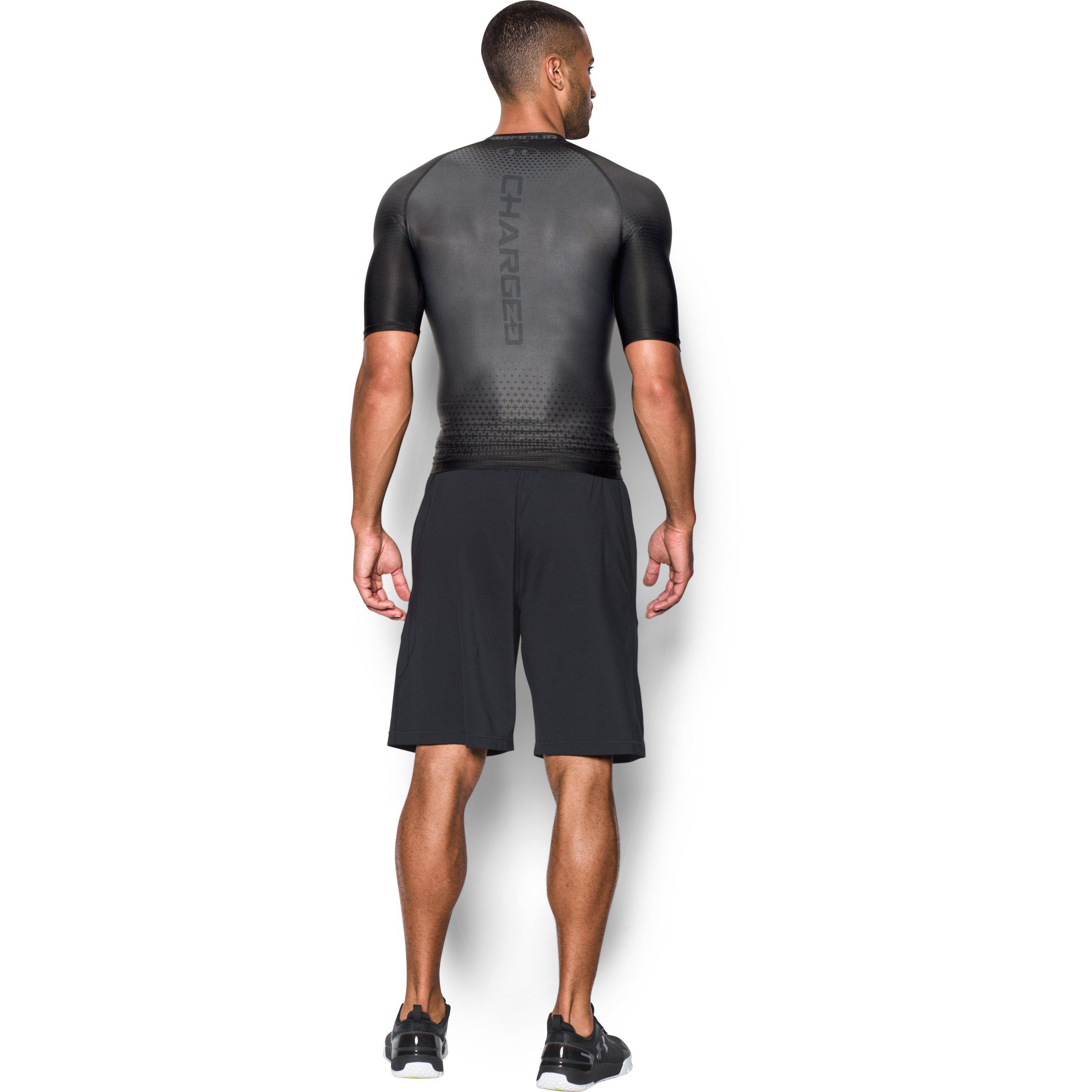 47d3f577a Under Armour Men's Ua Charged Compression Short Sleeve Shirt in ...