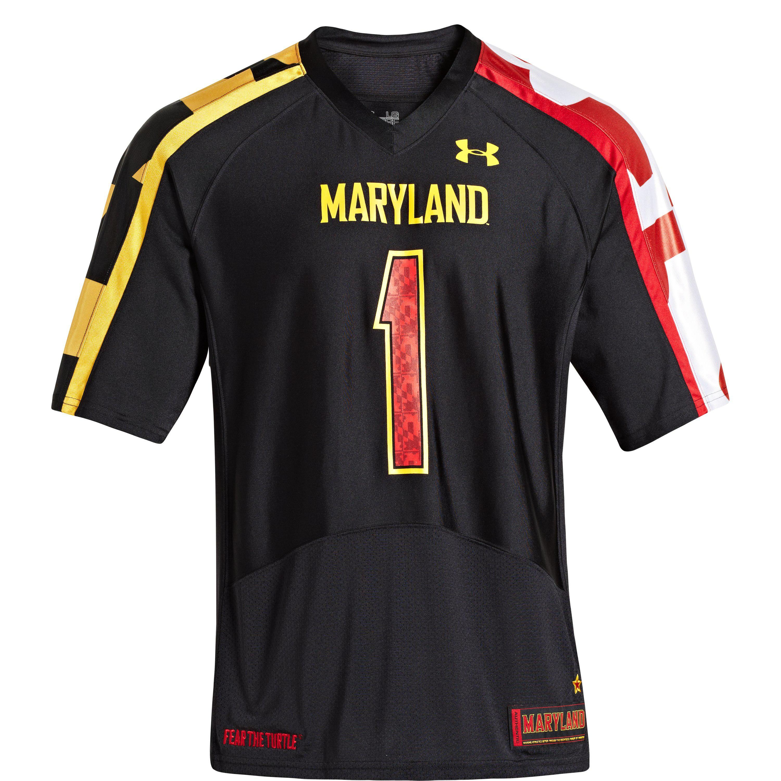 Lyst - Under Armour Men s Ua Maryland Pride Replica Jersey in Black ... 0c5a16a35