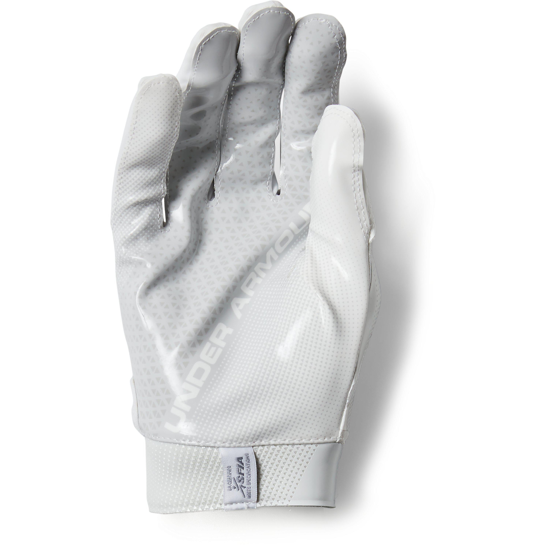 c82dea0b1a Under Armour Men's Ua Spotlight- Nfl Football Gloves in White for ...